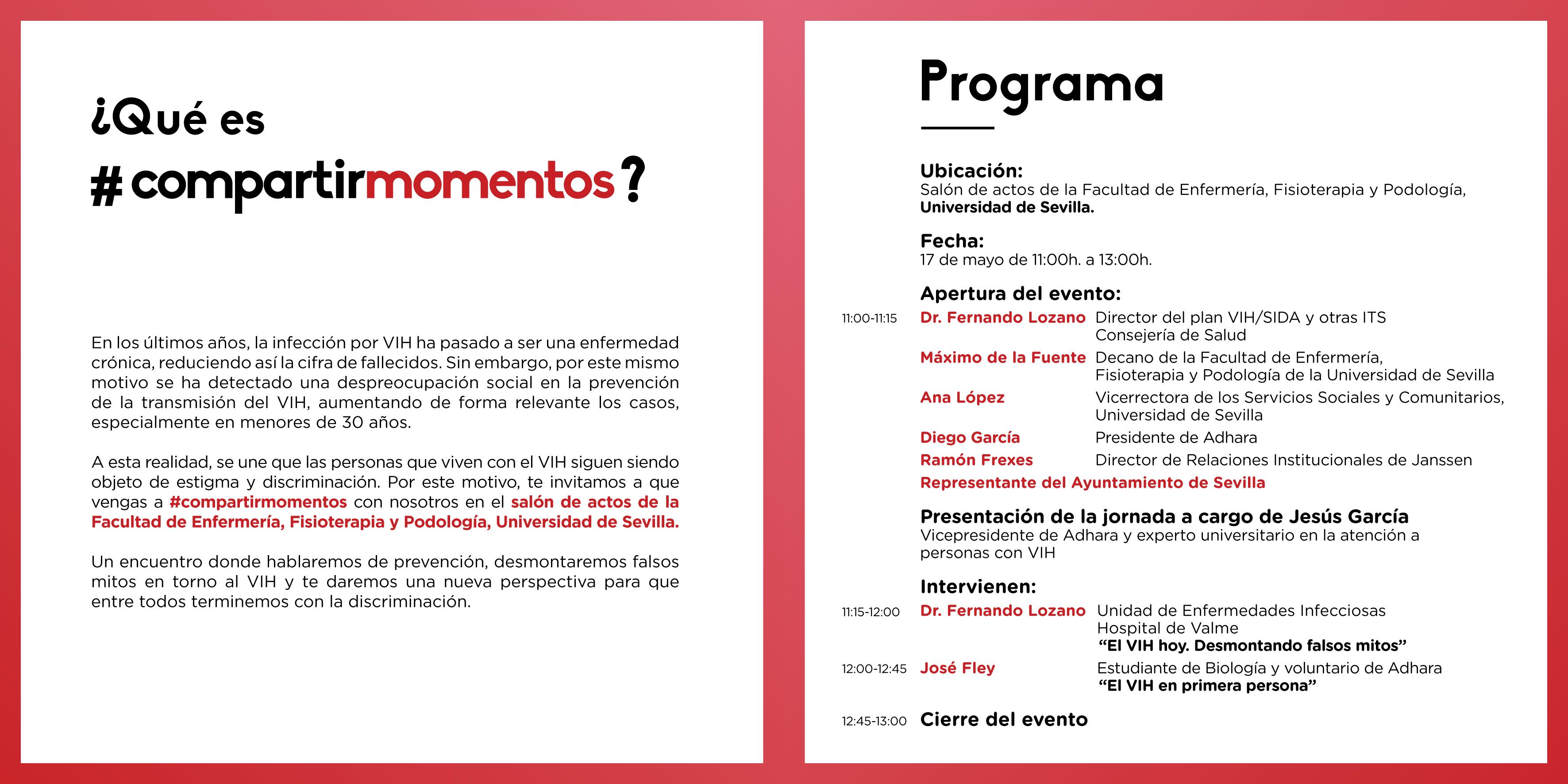 Chester De Compartirmomentos En La Universidad De Sevilla Adhara